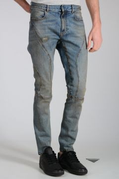 Jeans in Denim Stretch 16cm
