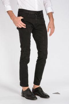 Jeans BLACK RUNNING in Denim Stretch 16 cm