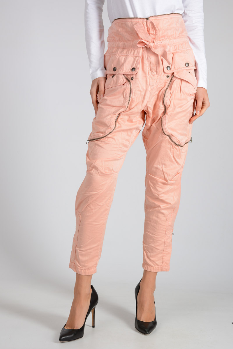 329d6250def Faith Connexion Women Silk And Cotton Pants - Glamood Outlet