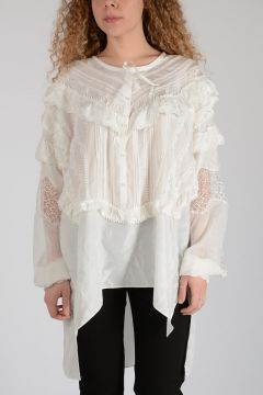 Silk Embroidered Shirt