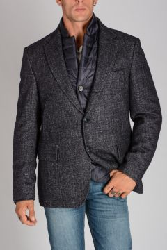 Virgin Wool Linen blazer