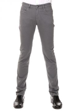 Pantalone in Cotone Stretch con Zip