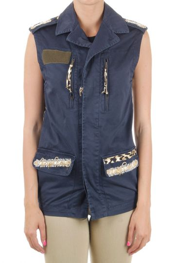 Sleeveless cotton Jacket
