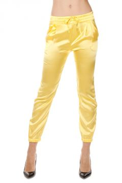 Stretch Silk Pants