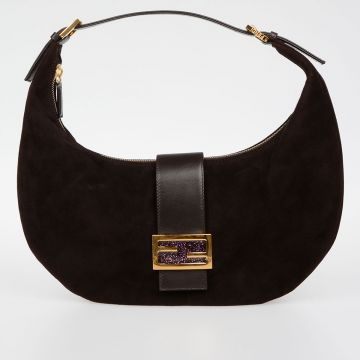 Suede Leather HOBO Bag