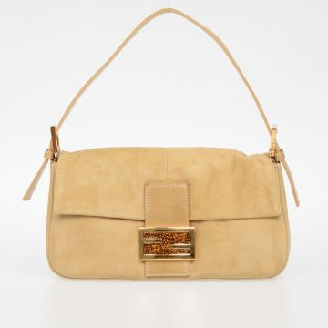 Suede Leather Medium Bag