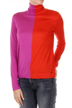 Silk and Cashmere Turtle Neck Pullover