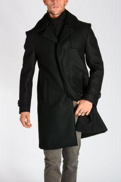 Wool and Cashmere Felt Coat