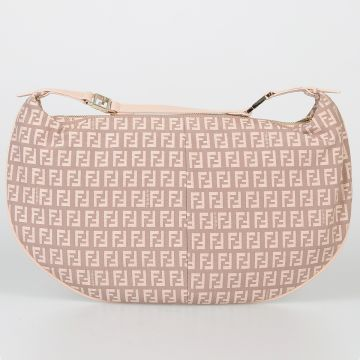 Fabric HOBO TUBE Clutch Bag