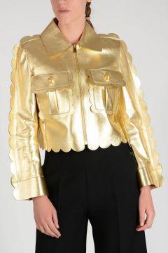 Leather PLATIMUN Jacket