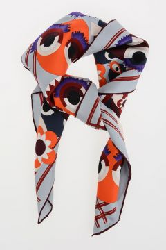 Foulard WONDERS in Twill di Seta 70x70 cm