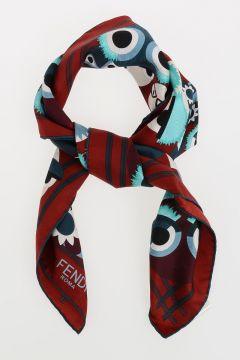 Silk Twill WONDERS Foulard 70x70 cm