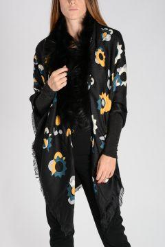 Silk & Wool FLOWERLAND 3 Shawl