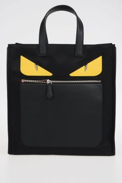 Borsa Shopping In Nylon Mostri