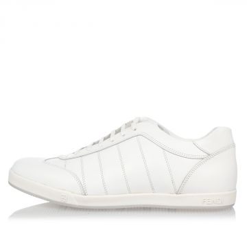 Sneakers in Pelle Stringata