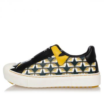 Sneakers in Pelle Slip On
