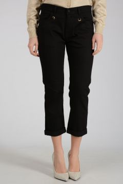 GOLD EDITION 19cm Cotton Stretched Jeans