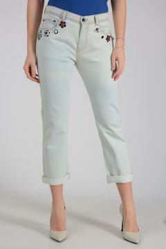 18cm Stretch Denim BOYFRIEND Jeans