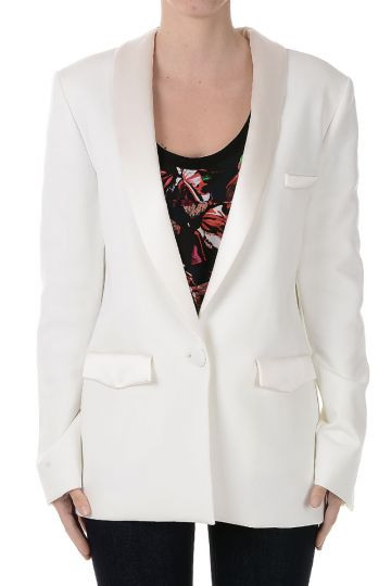 Single Breasted Blazer in Fabric
