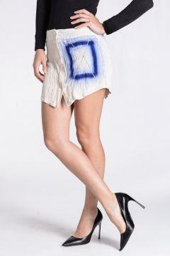 Embroidery Swarovski INDICA Extra mini Skirt