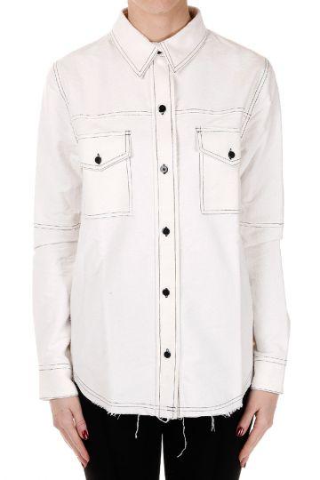 Camicia in cotone e Seta