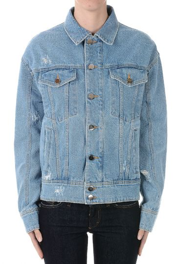 Denim Jacket with Applications