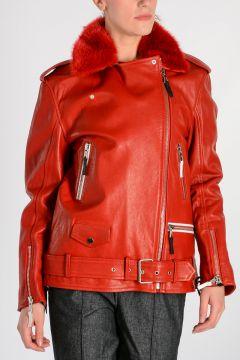 DAVIDSON Biker Leather Jacket