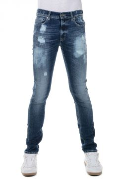 Jeans RONNIE in Denim Stretch 17 cm