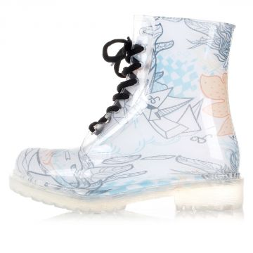 GINNY FLOWER pvc boots