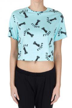 T-Shirt Corta con Stampa