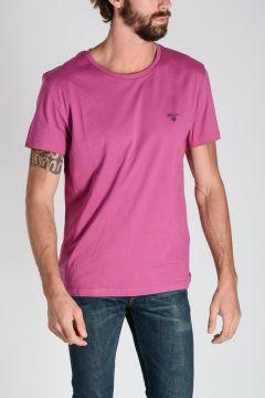 T-shirt In Cotone Con Girocollo