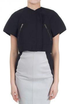 Short Jacket with Zip