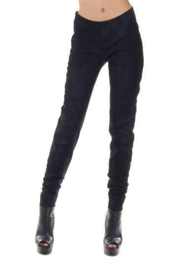 Legging TRIANGLE in pelle