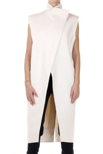 COCOON sleeveless coat