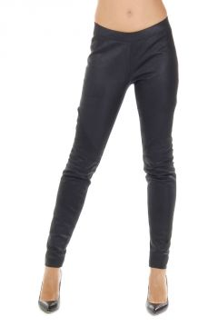 Legging PLAIN in pelle