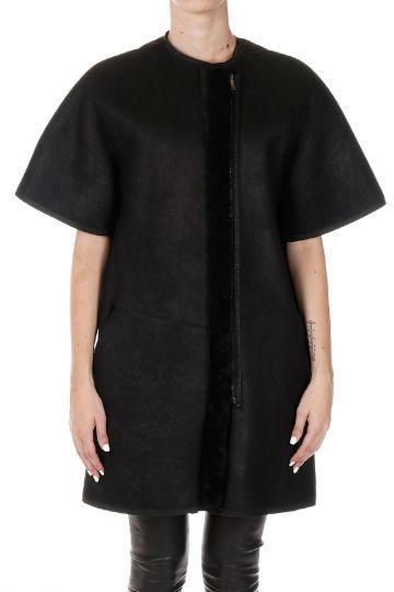 Short Sleeved Jacket in Shearling