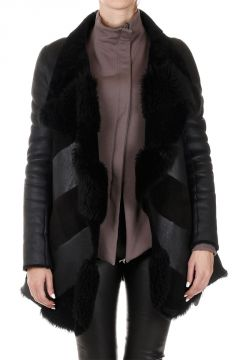 Lamb Shearling WRAP Jacket