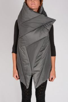 PADDED SQUARE WRAP Coat