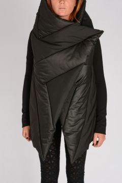 PADDED SQUARE WRAP JKT Down Jacket
