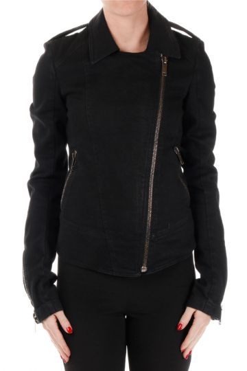 Cotton Blend BIKER Jacket