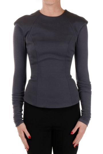 Long sleeve TAILORED Top