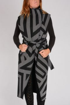 Cappotto WRAP TRENCH in Cotone