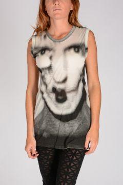 T-shirt OVERSIZE TOP PHOTO PRINT