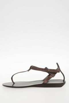Leather Sandals darkdust