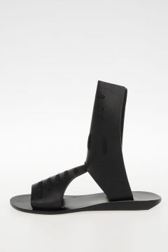 Leather  SLIVER WEDGE SPARTAN HOLES Sandals