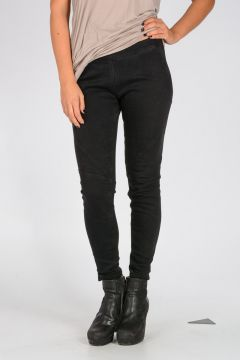 Leggings with Stretch Pannel