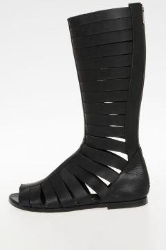 Sandalo Alto in Pelle