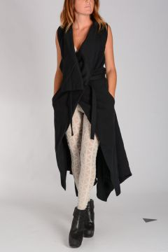 Cappotto in Felpa SLEEVELESS BOLERO INSERT