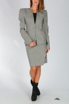 Virgin Wool ROUND COLLAR Blazer