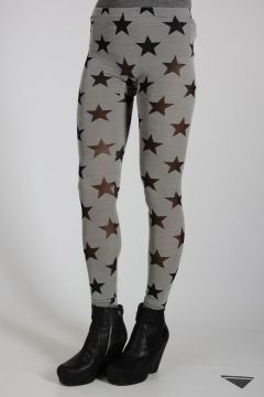 Star Patterned Leggings